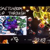 Sketchbook Flipthrough 2019